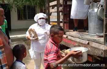 Restituidos celebran el Día del Campesino donando leche y pan en Chibolo - El Informador - Santa Marta