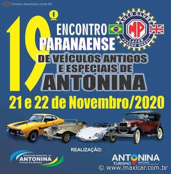 19º Encontro Paranaense de Carros Antigos e Especiais de Antonina, PR • 21 e 22/11/2020 - Portal Maxicar de Veículos Antigos