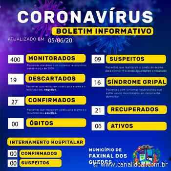 Faxinal dos Guedes confirma mais um caso de Covid-19 - Canal Ideal