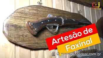 Artesão de Faxinal dos Guedes se destaca na produção de armas decorativas - Canal Ideal