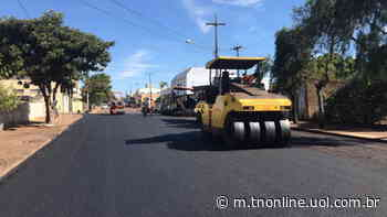 Prefeitura de Faxinal encerra obras de recape - TNOnline - TNOnline