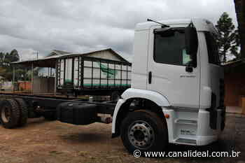Município de Faxinal dos Guedes recebe três veículos da Receita Federal - Canal Ideal