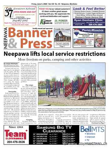 Friday, June 5, 2020 Neepawa Banner & Press - myWestman.ca
