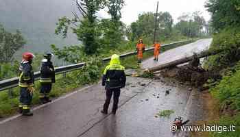 Frana tra Lodrone e Bagolino verifiche sui rischi per la strada - l'Adige - Quotidiano indipendente del Trentino Alto Adige
