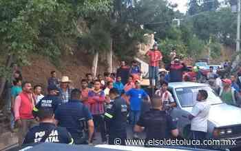Por presunta sanitizacion impiden a bomberos sofocar incendio en Tenancingo - El Sol de Toluca
