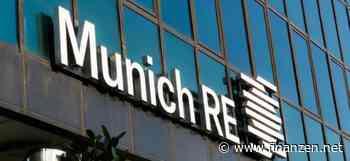 Munich Re fürchtet starke Hurrikan-Saison im Atlantik - finanzen.net