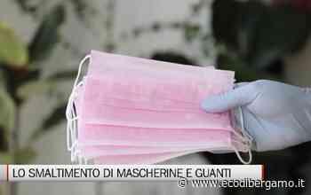 Rifiuti, lo smaltimento di mascherine e guanti - L'Eco di Bergamo