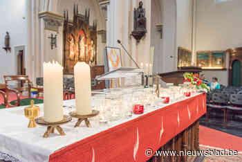 Stewards op de eerste zondagsmis in Kapellen (Glabbeek) - Het Nieuwsblad