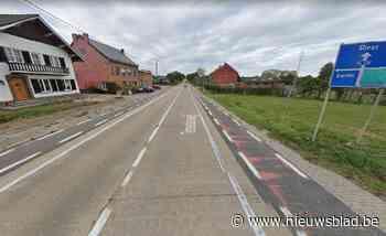Herstellingen aan de Tiensesteenweg in Kapellen (Glabbeek) - Het Nieuwsblad