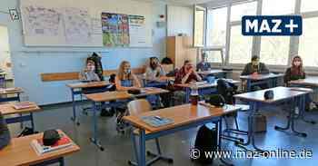 Covid-19 - Schulstart für die zehnten Klassen nach Coronapause: Schüler über Wiederbeginn erfreut - Märkische Allgemeine Zeitung