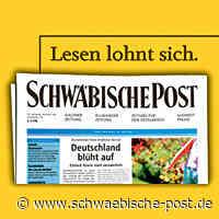 Ölspur auf der A7 Ausfahrt Aalen/Oberkochen - Schwäbische Post