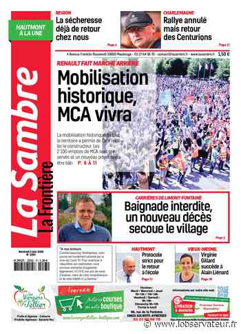 La Sambre (Hautmont) du vendredi 5 juin 2020 - L'Observateur