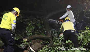 Colapsa muro en la entrada de Sensuntepeque - Diario El Mundo