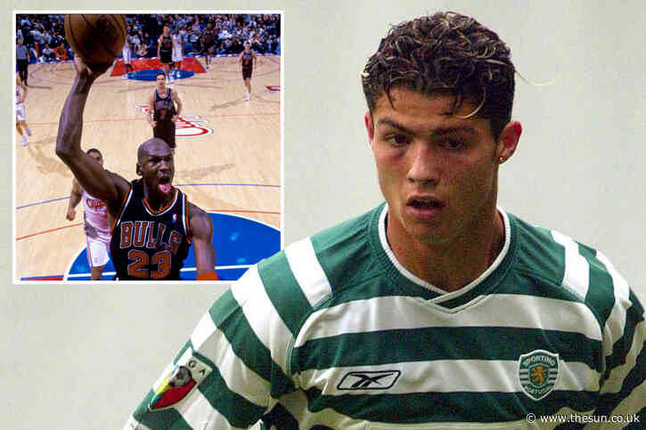 Cristiano Ronaldo, like Michael Jordan, was best at everything from football to snooker, says ex-Sporting team-mate
