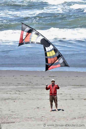 Kite flying in Fairhaven - Eureka Times-Standard