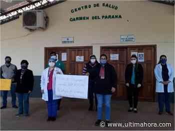 Funcionarios del Centro de Salud de Carmen del Paraná, en paro por falta de pago de salario - ÚltimaHora.com