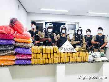Suspeitos de tráfico são presos com drogas e munição em Alfenas, MG - G1