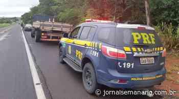 Caminhão com placas de Carlos Barbosa é apreendido com mais de um tonelada de maconha - jornalsemanario.com.br