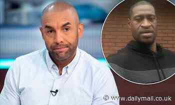 GMB's Alex Beresford insists systemic racism in the UK and US is 'similar' - Daily Mail