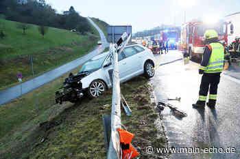Drei Verletzte nach Unfall auf der A3 bei Waldaschaff - Main-Echo