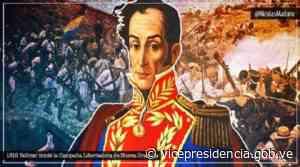 Hace 201 años Simón Bolívar inició la Campaña Libertadora de Nueva Granada - Vicepresidencia