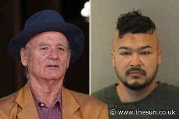 Bill Murray's son Caleb, 27, arrested for 'biting and spitting at a police officer' during Black Lives Matter - The Sun