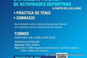 Obera habilita practica de actividades   Especiales - pickandroll.com.ar