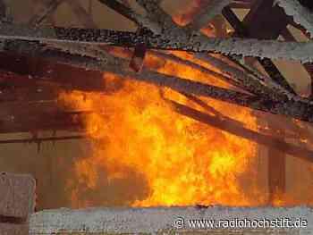 Brandstiftung an der Langestraße in Salzkotten - Radio Hochstift