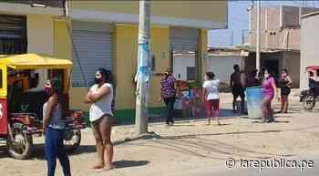 Jayanca se queda sin agua en plena pandemia del coronavirus - LaRepública.pe