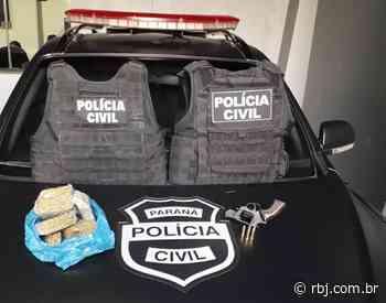 Suspeito de tráfico de drogas é preso em Rio Bonito do Iguaçu - RBJ
