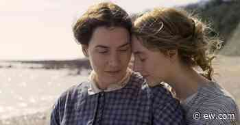 'Ammonite' director says Kate Winslet, Saoirse Ronan film is about 'the power of love' and 'touch' - EW.com