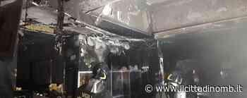 Incendio a Brugherio, brucia pizzeria in via Matteotti - Il Cittadino di Monza e Brianza