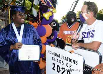 Phoenix Suns & Hope Academy Deliver One-Of-A-Kind Graduation Surprises To Extraordinary High School Students Across The Valley
