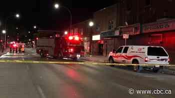 Firefighter injured in Selkirk Avenue blaze - CBC.ca