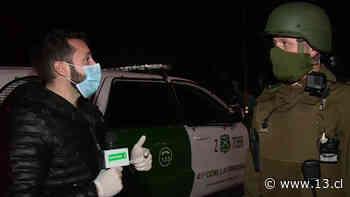 Fiscalización en La Pintana: Manejan ebrios, compran alcohol y roban vehículos - 13.cl