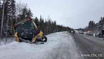 One dead in crash between car, school bus in Quebec's Saguenay region - CBC.ca