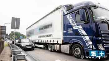 Kreuztal: Unfall an HTS-Auffahrt sorgt für langen Stau - Westfalenpost