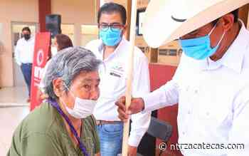 Entregan apoyos de empleo temporal en Miguel Auza - NTR Zacatecas .com