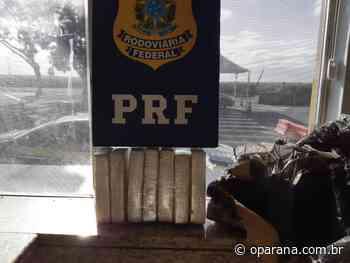 PRF apreende haxixe em ônibus de linha em Santa Terezinha de Itaipu - O Paraná