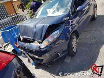 RIVAROLO CANAVESE – Corso Re Arduino: tamponamento tra due auto (FOTO) - ObiettivoNews