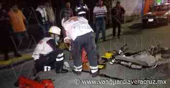 Se fractura el tobillo al derrapar, en Tuxpan - Vanguardia de Veracruz - Vanguardia de Veracruz