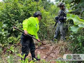 Encuentran caleta con armamento del Clan del Golfo en Puerto López - Radio Santa Fe