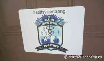 Give back to charities - purchase COVID-19 #stittsvillestrong coat of arms - StittsvilleCentral.ca