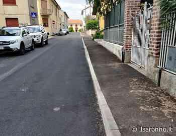 Solaro, riqualificazione in via Piave: eliminate le barriere architettoniche - ilSaronno