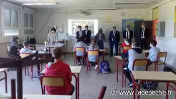 Lannemezan. Le directeur académique visite l'école et le collège - ladepeche.fr