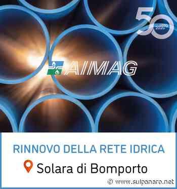 A Solara di Bomporto, importante intervento su rete acquedottistica - SulPanaro