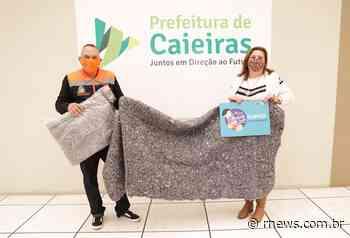 """Caieiras adere mais uma vez a Campanha """"Meias do Bem"""" - RNews"""