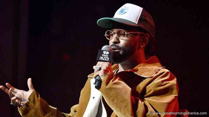 Big Sean on his experience as a black man in America: 'I don't feel free' - GMA