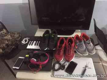 Polícia recupera em Chapecó, objetos de furtos de Pinhalzinho - Portal DI Online