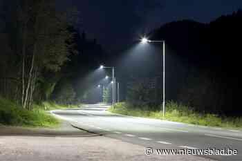 Straatverlichting 's nachts gedoofd (Oud-Heverlee) - Het Nieuwsblad